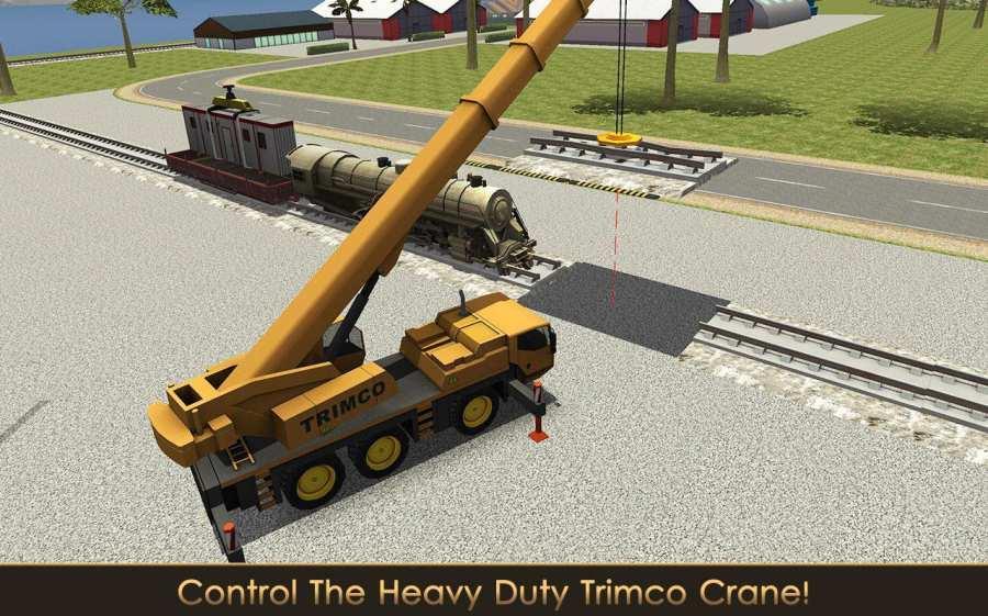 铁路建设者:起重机和装载机截图4