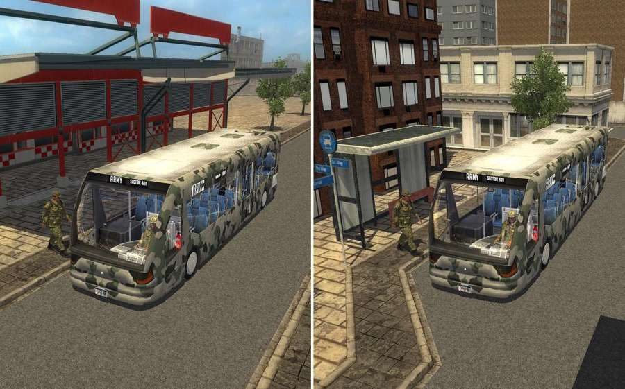 Army Bus Driver Duty截图0