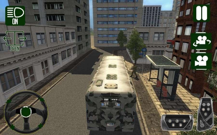 Army Bus Driver Duty截图1