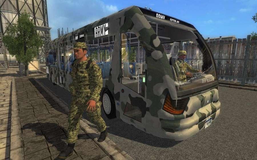 Army Bus Driver Duty截图3