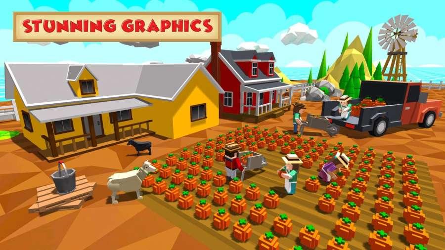 块农业模拟器截图1