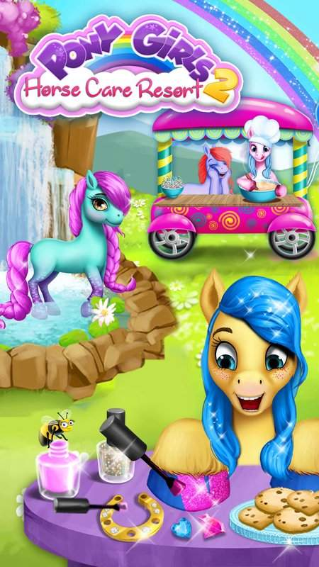 Pony Girls Horse Care Resort 2截图1