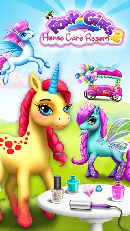 Pony Girls Horse Care Resort 2截图6