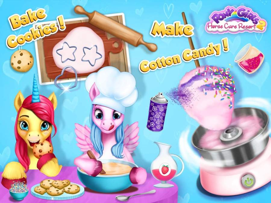 Pony Girls Horse Care Resort 2截图8