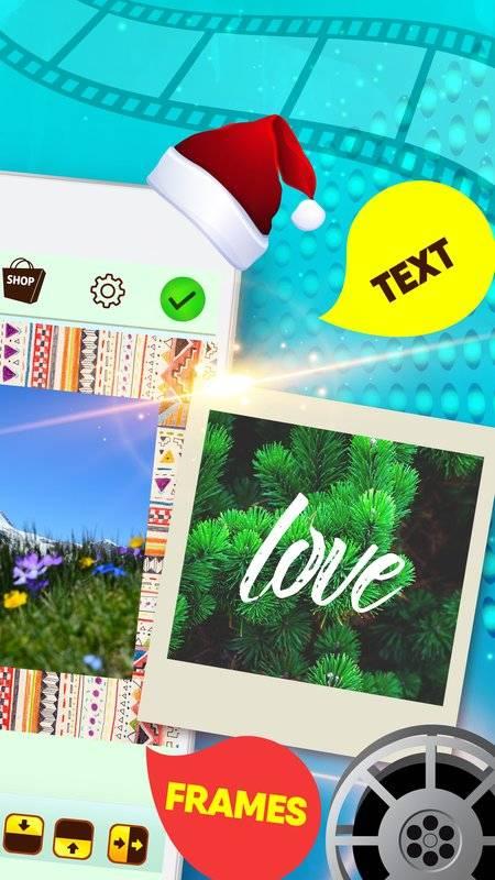 在视频编辑程序中组合照片和音乐截图3