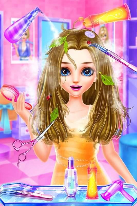 Hair Designer DIY Salon截图1