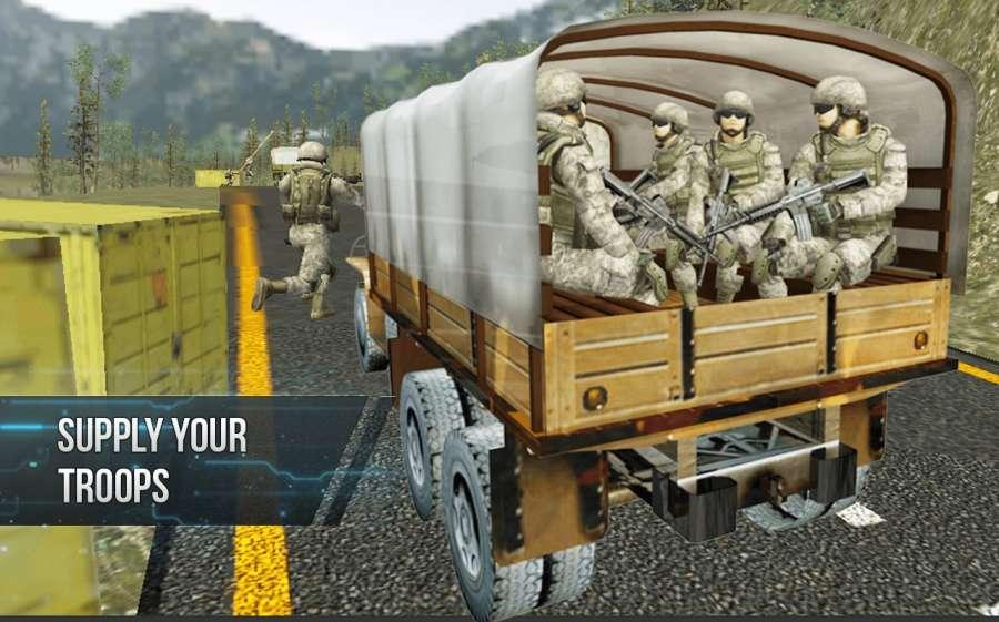 越野陸軍卡車司機截图2