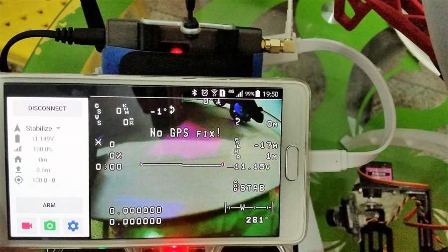 FPVDroid - 把设备变成包含录像支持的FPV显示器截图1