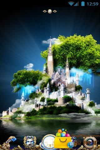 玩免費工具APP|下載桌面主题-魔幻城堡 app不用錢|硬是要APP