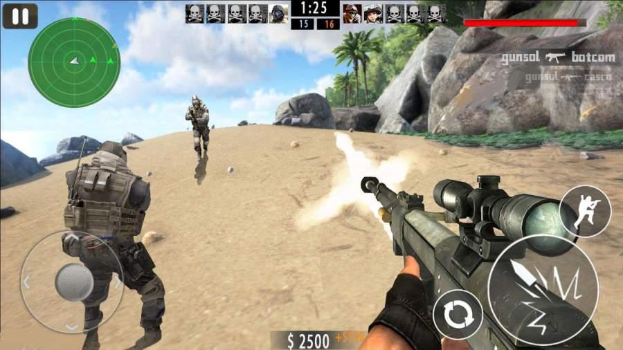 Mountain Sniper Shoot截图1