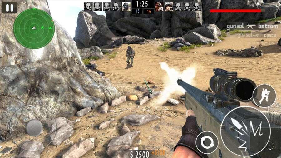 Mountain Sniper Shoot截图2