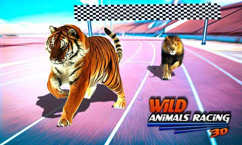 野生动物赛车3D截图3