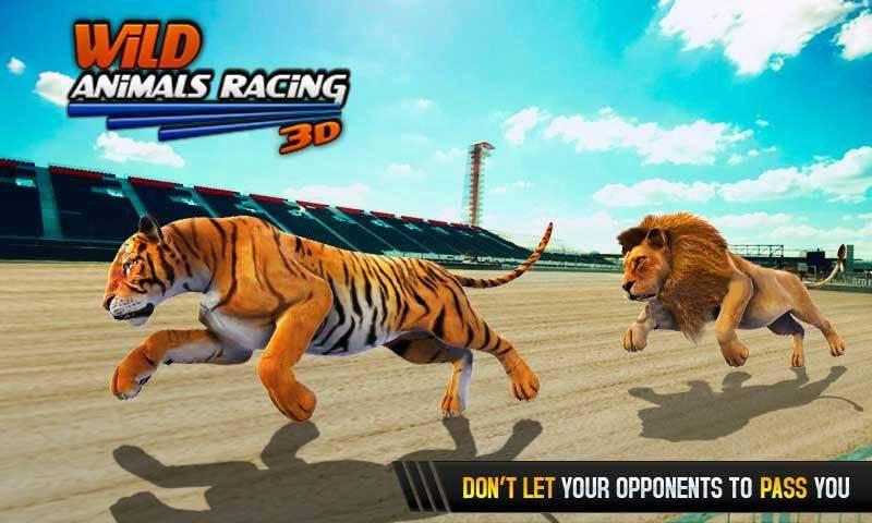 野生动物赛车3D截图4