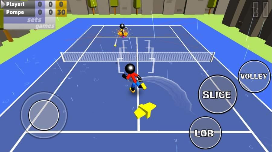 火柴人3D网球截图1