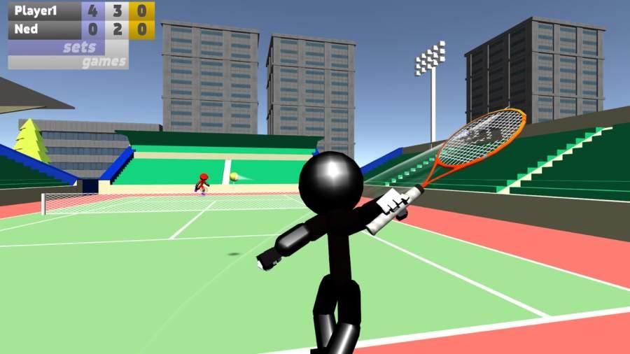 火柴人3D网球截图2