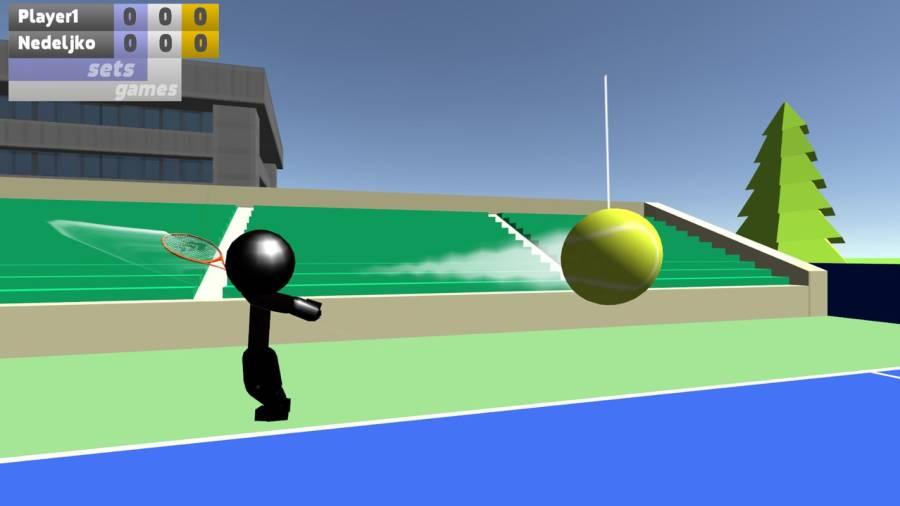 火柴人3D网球截图4