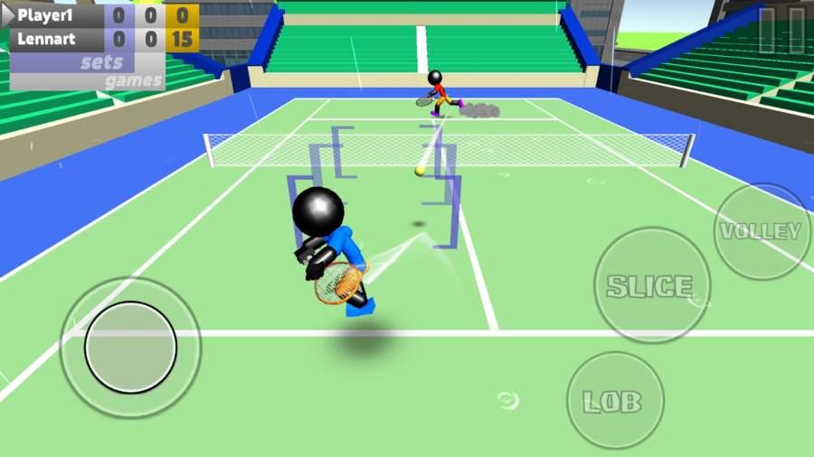 火柴人3D网球截图5