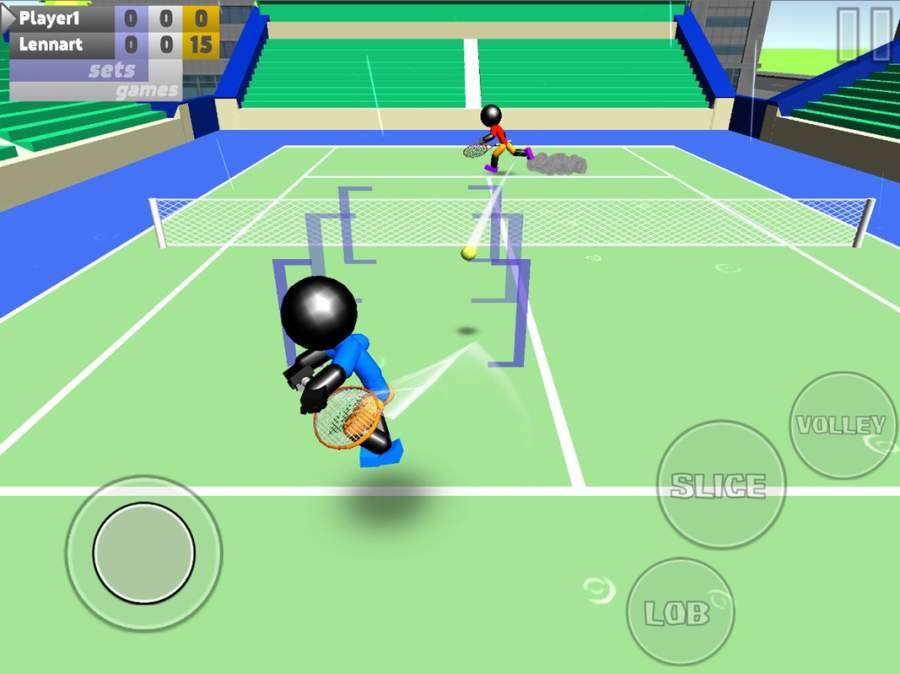 火柴人3D网球截图6