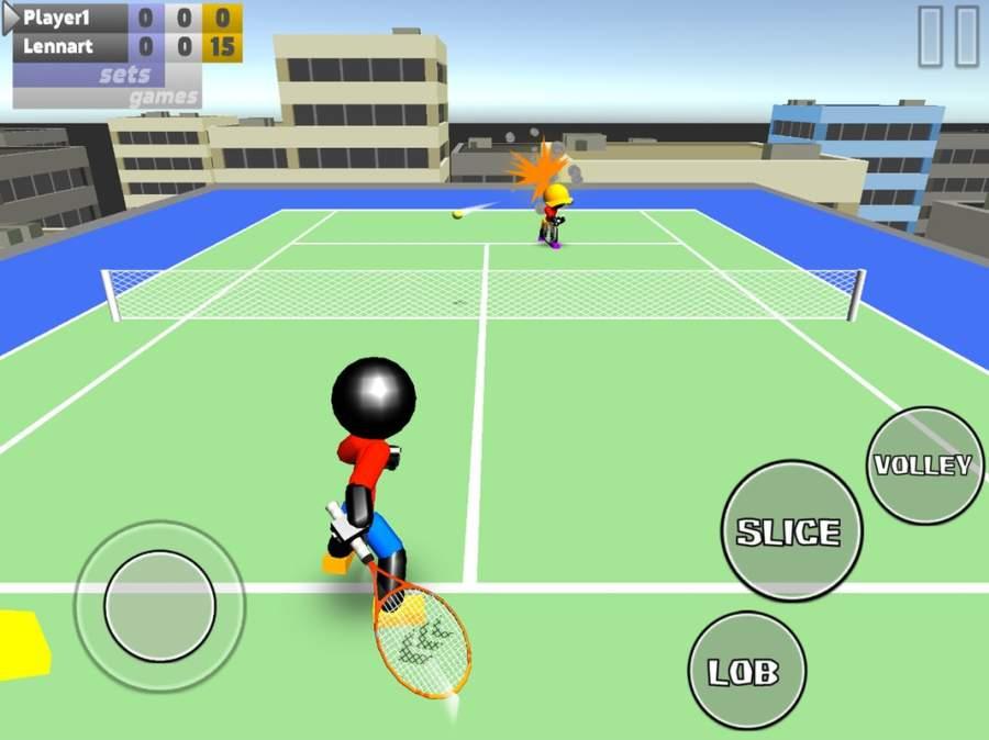 火柴人3D网球截图7