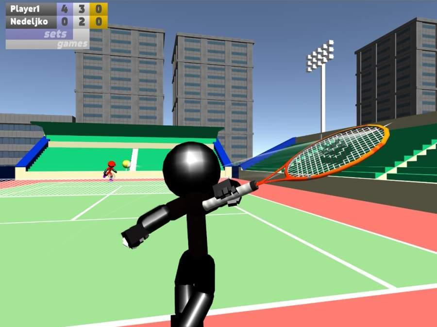 火柴人3D网球截图8
