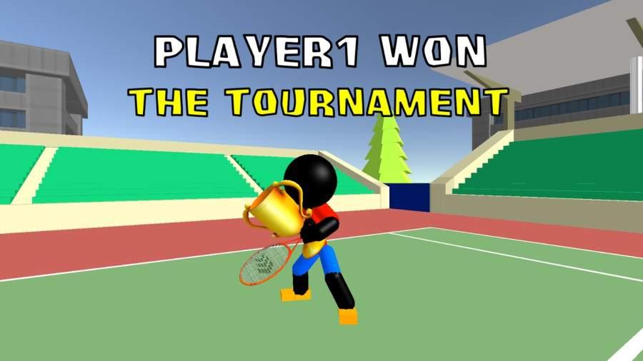 火柴人3D网球截图9