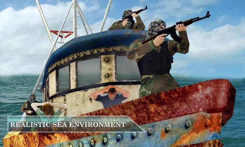 海盗船VS海军舰队隐形救援任务截图5