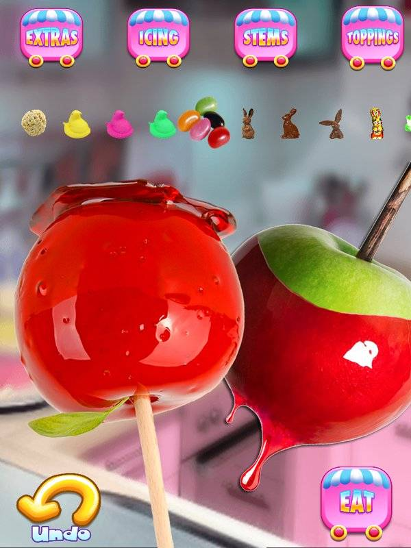 Candy Apples Maker - Kids Cooking Games FREE截图0