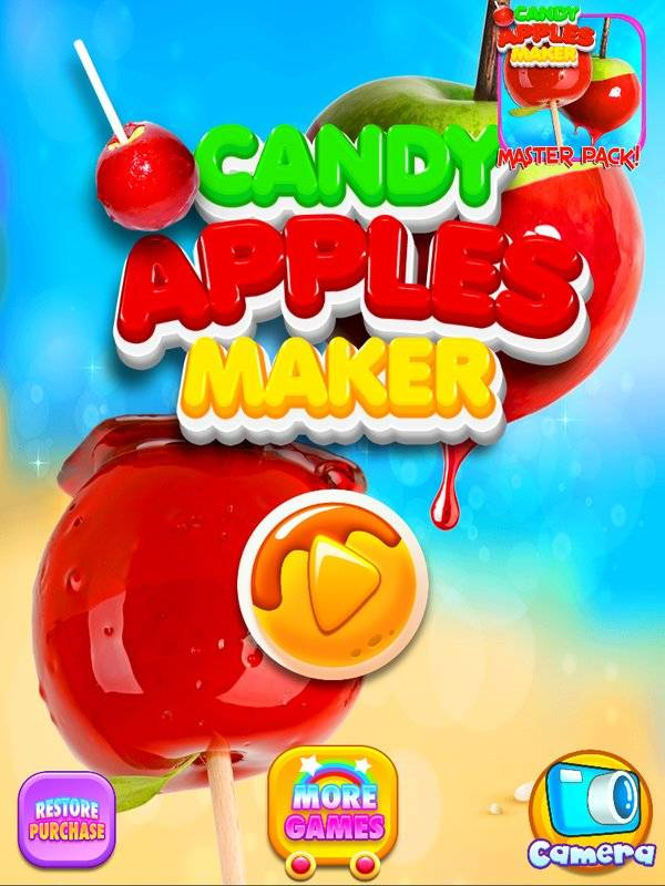 Candy Apples Maker - Kids Cooking Games FREE截图1