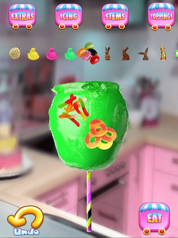 Candy Apples Maker - Kids Cooking Games FREE截图3