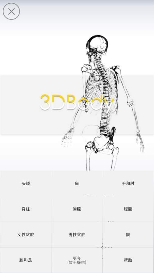 3Dbody解剖截图0