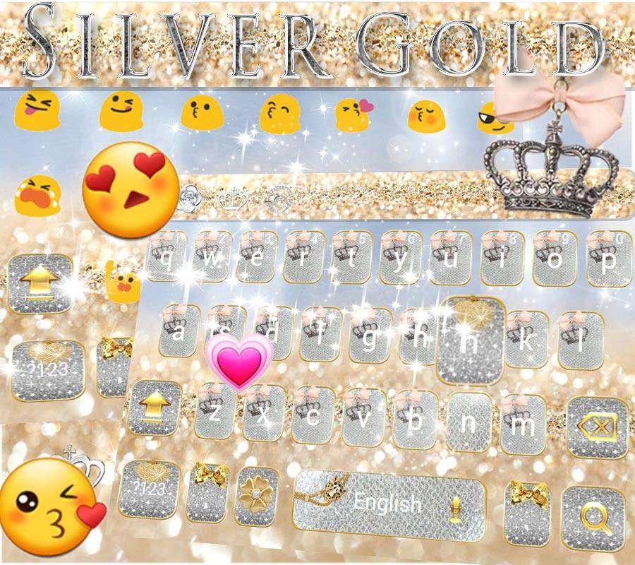 闪闪发光键盘主题 emoji键盘 + 语音输入截图1