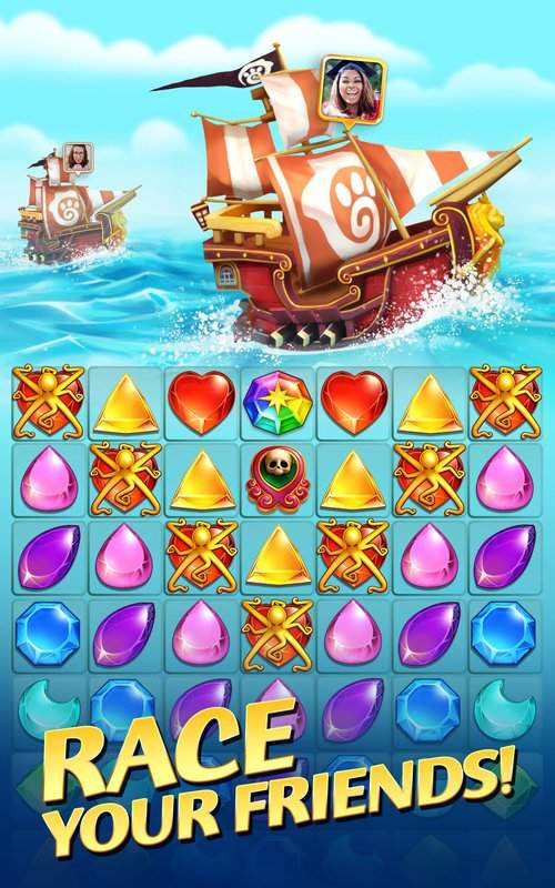 Booty Quest - Pirate Match 3截图10