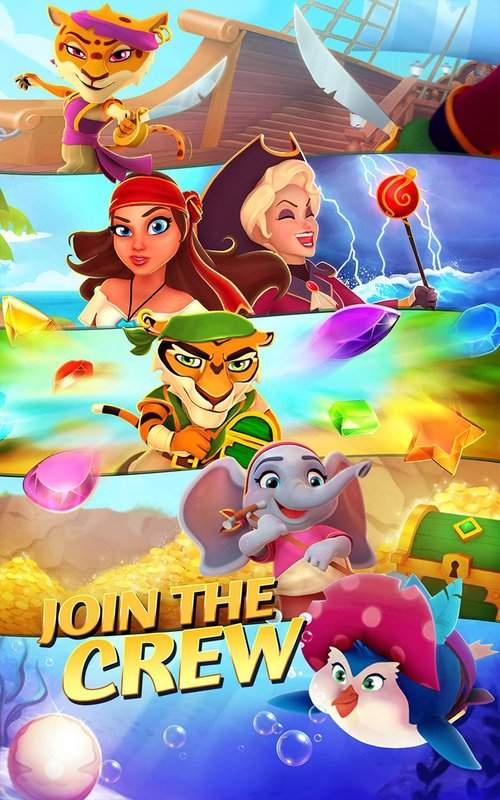 Booty Quest - Pirate Match 3截图3