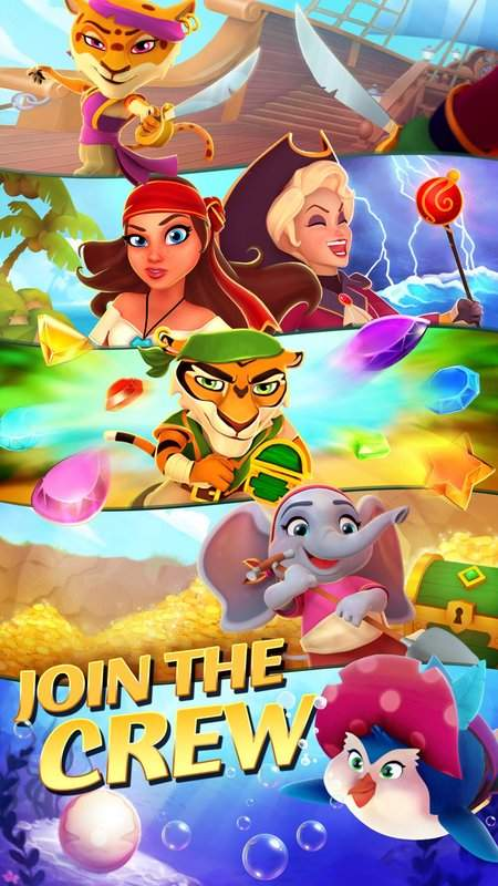 Booty Quest - Pirate Match 3截图7