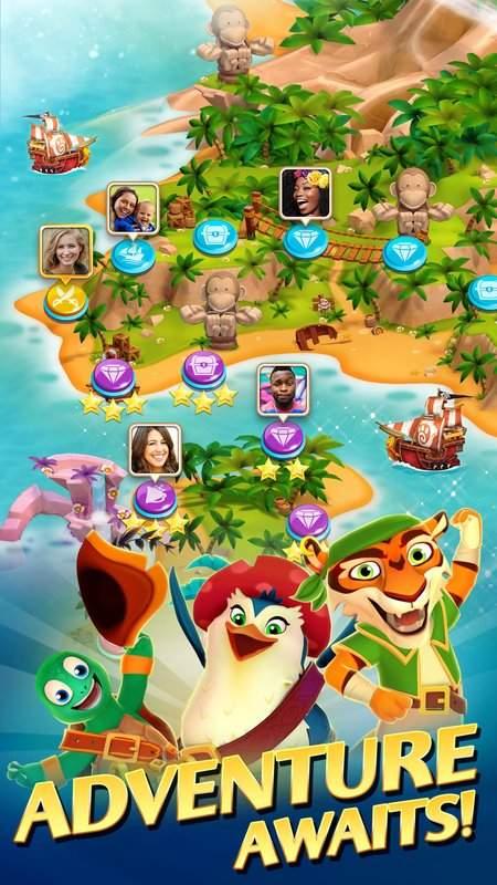Booty Quest - Pirate Match 3截图8