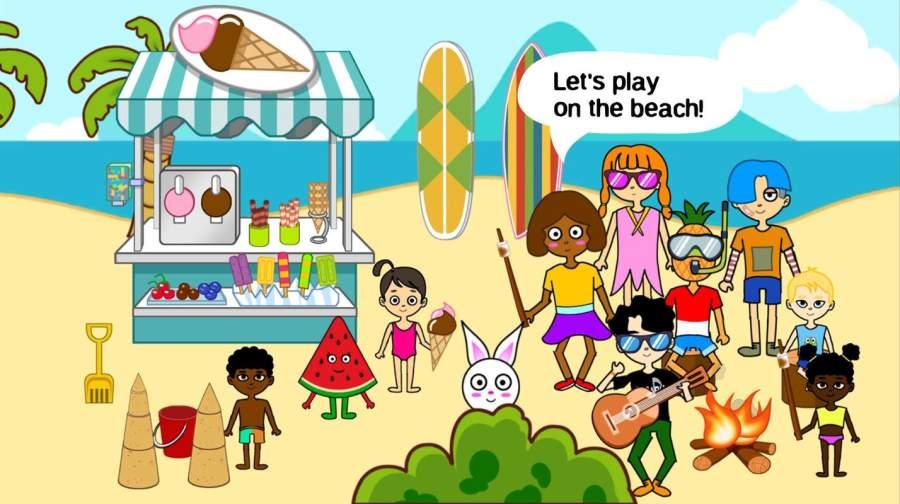 比卡布假期:夏日与海滩截图1