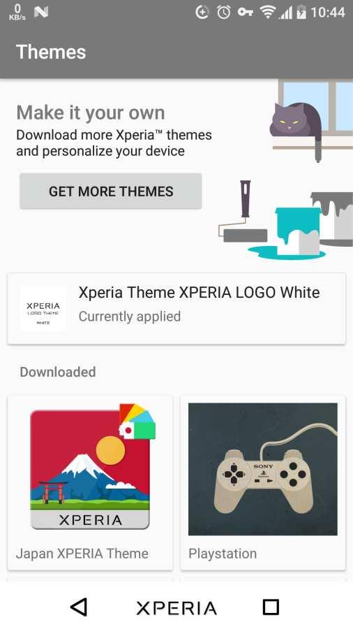 Xperia Theme XPERIA LOGO White截图2