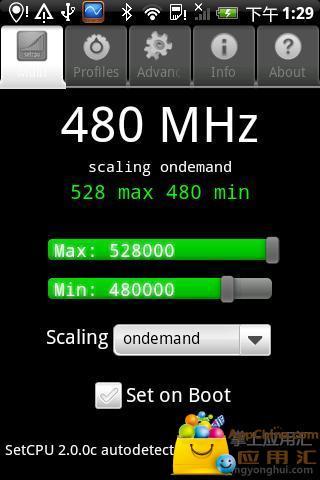 CPU调频对象