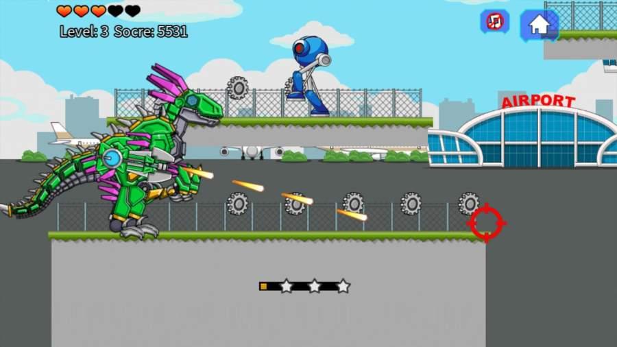 机器恐龙速龙大战截图1