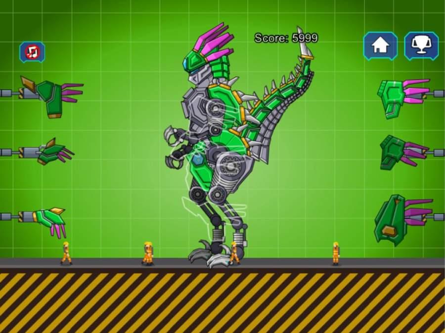 机器恐龙速龙大战截图5