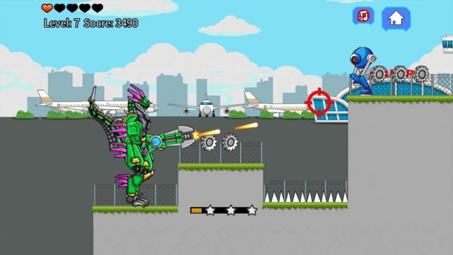 机器恐龙速龙大战截图7