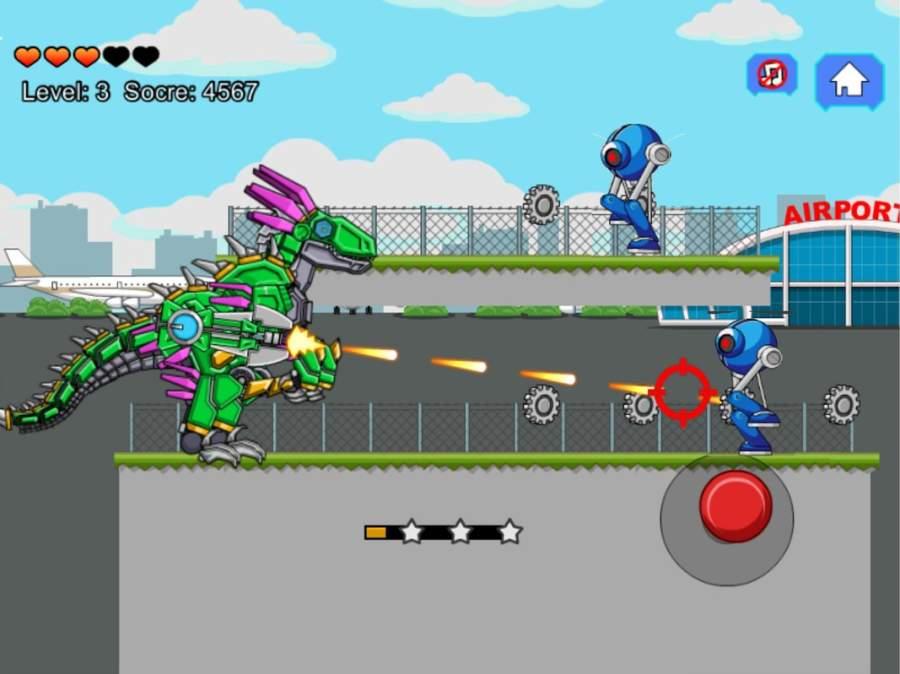 机器恐龙速龙大战截图8