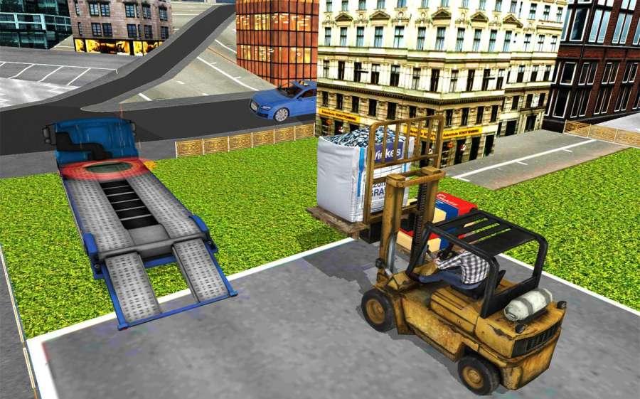 施工 模拟器 卡车