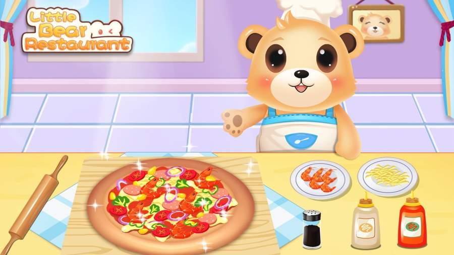 小熊欢乐餐厅 - 可爱儿童料理 美味餐厅大厨 儿童厨师游戏截图4