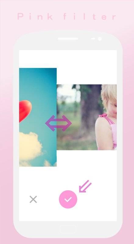 软粉红色过滤器♥Soft截图2