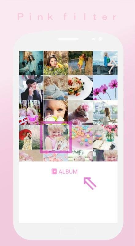 软粉红色过滤器♥Soft截图3