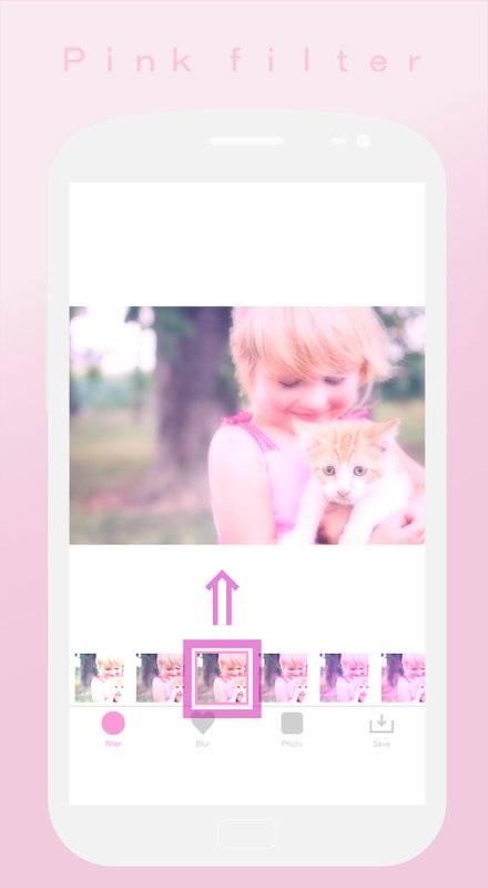 软粉红色过滤器♥Soft截图8