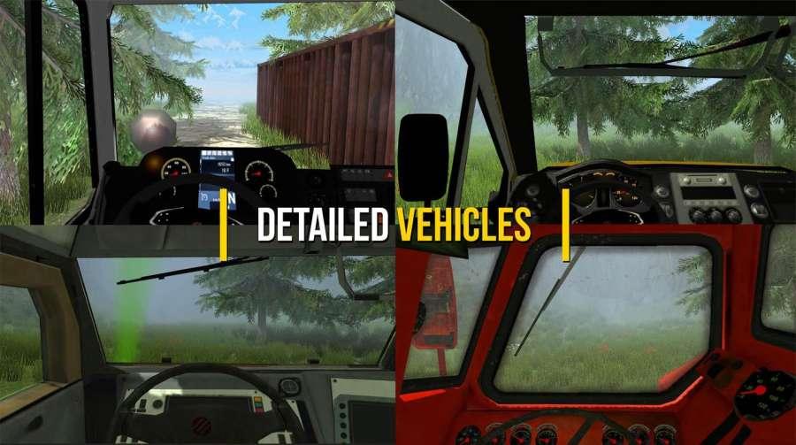 卡车模拟器越野3