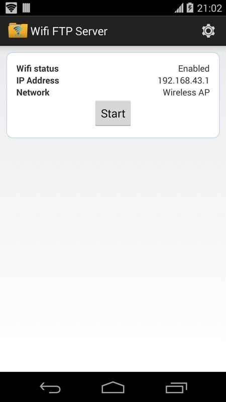 无线FTP服务器