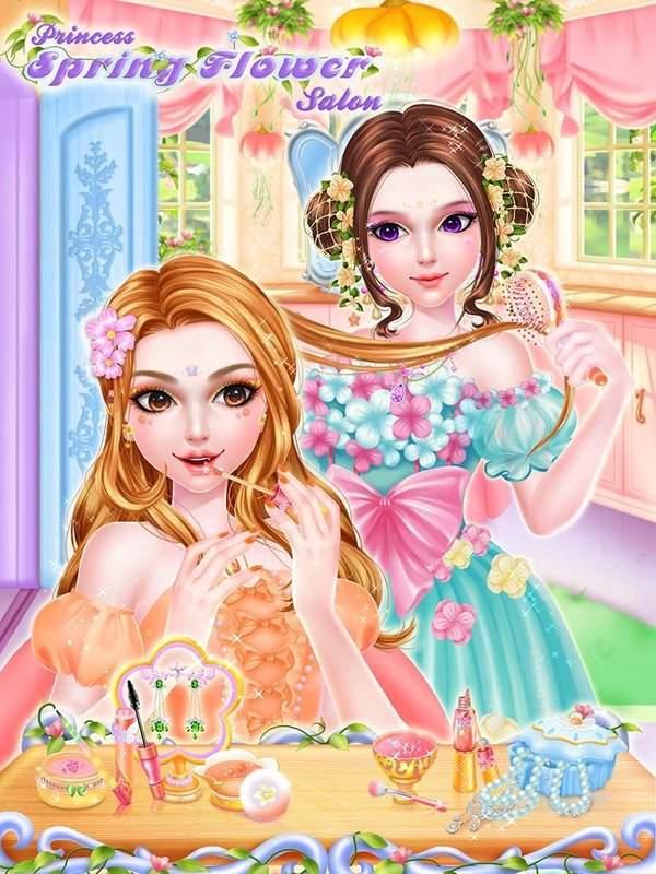 皇室公主春日赏花沙龙截图2